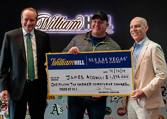 Bettor Turns $85,000 into $1,190,000 at SLS Las Vegas with Tiger's Masters Victory; Largest Futures Payout in William Hill US History