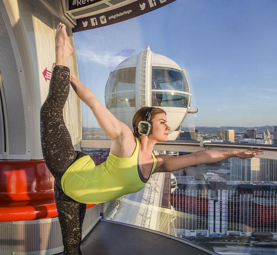 Yoga Sessions on the High Roller to Be Offered Daily Starting June 21
