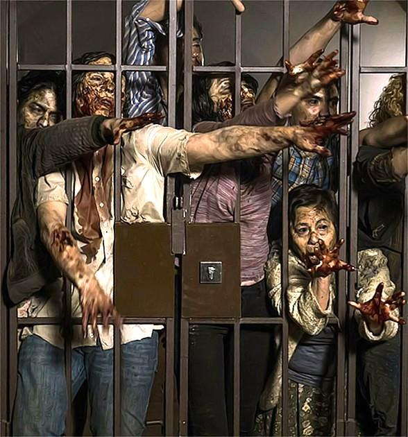 "Multi-Sensory Zombie Attraction ""Fear the Walking Dead Survival"" Unveiled at Fremont Street Experience in Downtown Las Vegas"