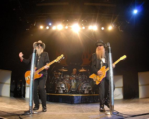 ZZ Top plays The Joint at Hard Rock Hotel (Photo credit: Hard Rock Hotel and Casino – Scott Harrison)